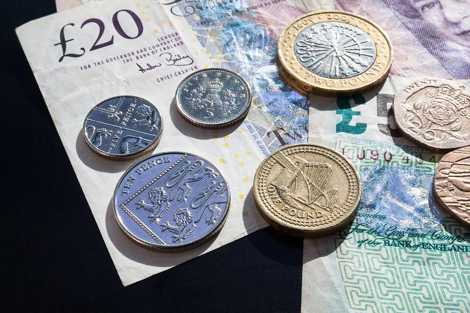 britska měna
