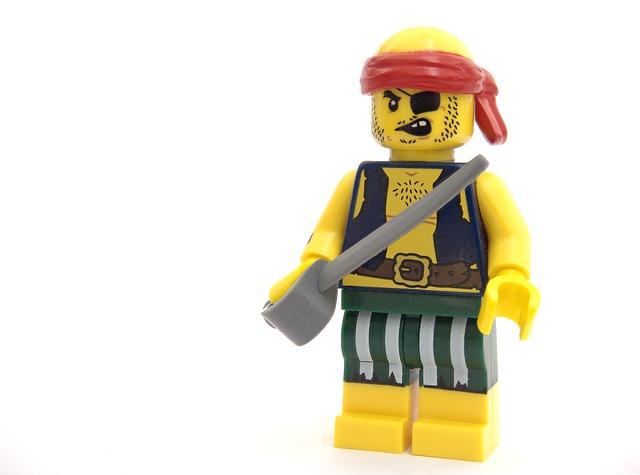 panáček pirát