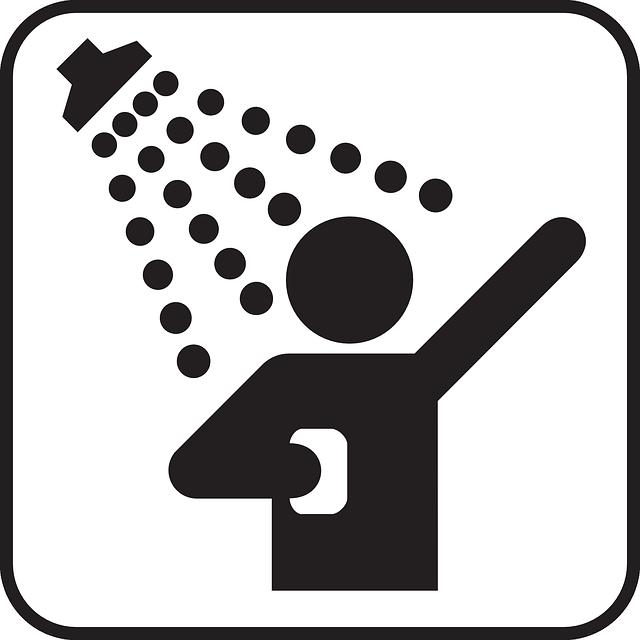 Myjící se muž