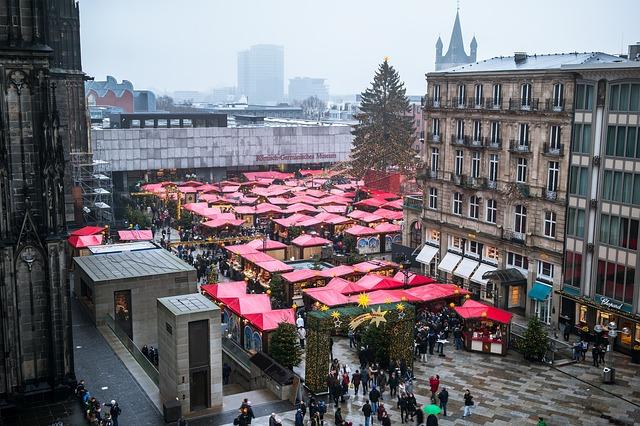 Vánoční trh Německo