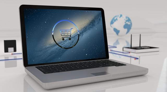 otevřený laptop