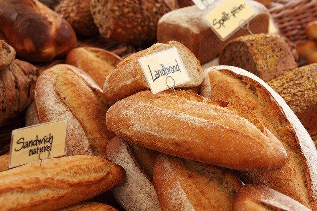 výrobky z pšenice